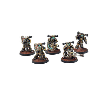 CHAOS SPACE MARINES 5 Havocs #1 PRO PAINTED Warhammer 40k