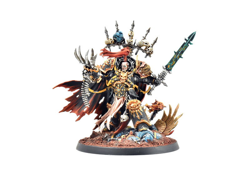 Games Workshop CHAOS SPACE MARINES Abaddon The Despoiler #1 PRO PAINTED Warhammer 40k