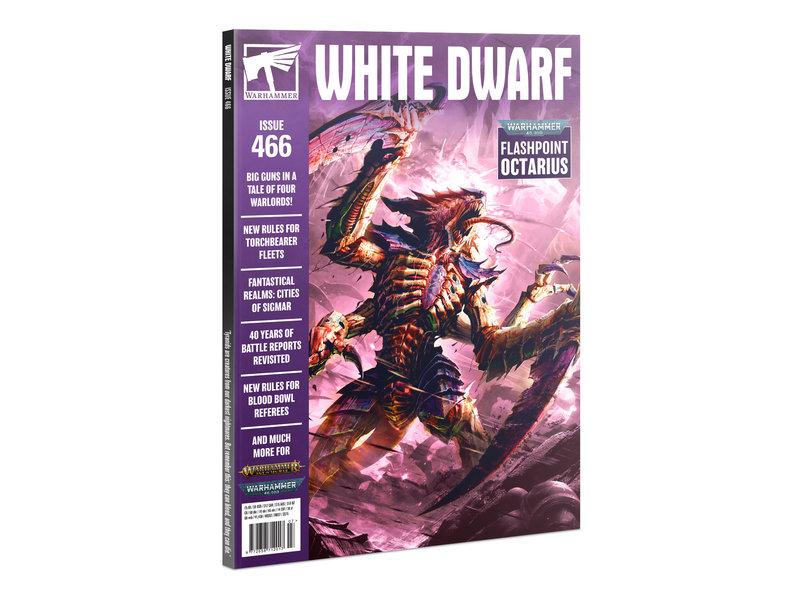 Games Workshop White Dwarf 466 (Jul-21) (French)