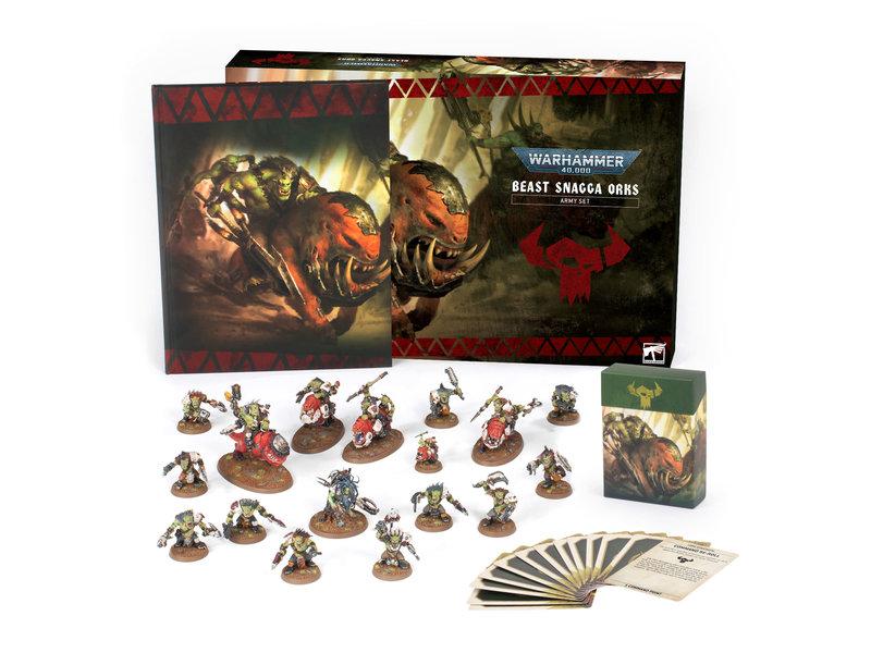 Games Workshop Beast Snagga Orks Army Set (FRENCH)