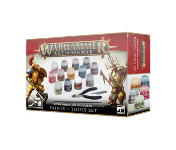 Age of Sigmar - Paints + Tools (PRE ORDER)