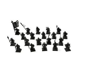 BRETONNIA 20 Men at Arms Not original Shield #1 PLASTIC Fantasy