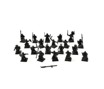 BRETONNIA 20 Men at Arms Not original Shield #2 PLASTIC Fantasy