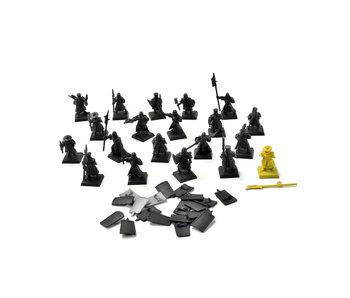 BRETONNIA 20 Men at Arms #5 Warhammer Fantasy PLASTIC