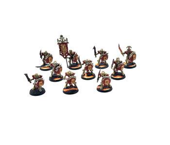 OSSIARCH BONEREAPERS 10 Mortek Guard #1 WELL PAINTED Warhammer Sigmar
