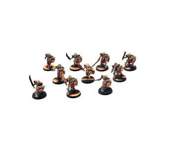 OSSIARCH BONEREAPERS 10 Mortek Guard #2 WELL PAINTED Warhammer Sigmar