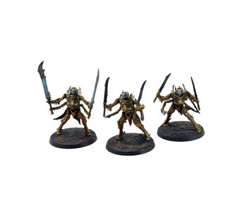 OSSIARCH BONEREAPERS 3 Necropolis Stalkers #1 WELL PAINTED Sigmar