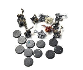 CHAOS DWARFS 11 Infernal Guards #1 Legion of Azgorth Forge world
