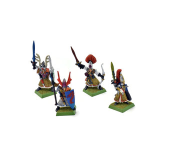 HIGH ELVES 4 Heroes Lord METAL #1 Warhammer Fantasy