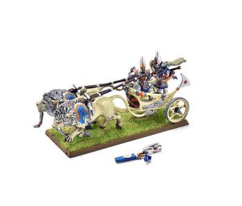 HIGH ELVES White Lion Chariot #3 Warhammer Fantasy PLASTIC