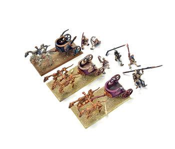 TOMB KING 3 Tomb King Chariots #1 Warhammer Fantasy