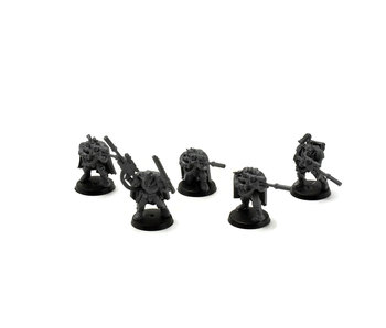 SPACE MARINES 5 Scout with Sniper Rifles #1 Warhammer 40k