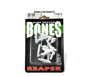 REAPER Miniatures Knigts of The Realm (3)