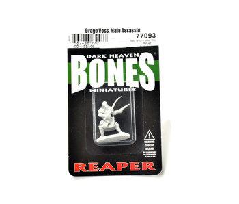 REAPER Miniatures Drago Vess, Male Assassin