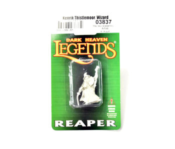 REAPER Miniatures Kenrik Thistlemoor, Wizard METAL