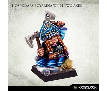 Hospodars Boyarina With Two Axes (KRM168)