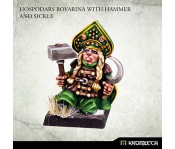 Hospodars Boyarina With Hammer And Sickle (KRM169)
