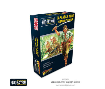 Bolt Action Japanese Army Support Group