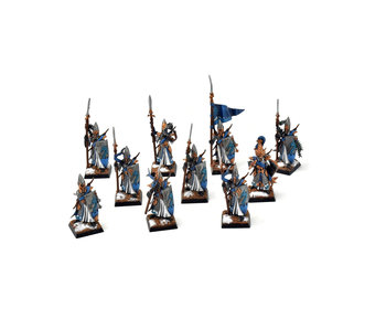 HIGH ELVES 10 lothern sea guards #1 WELL PAINTED Fantasy