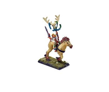 WOOD ELVES Mounted Mage #1 METAL Warhammer Fantasy