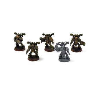 DEATH GUARD 5 Plague Marines #1 OOP Warhammer 40k