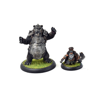 MINIONS Brun Cragback and Lug #1 WELL PAINTED hordes