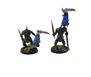 CHAOS DAEMONS 2 Plaguebearers #1 Warhammer Sigmar