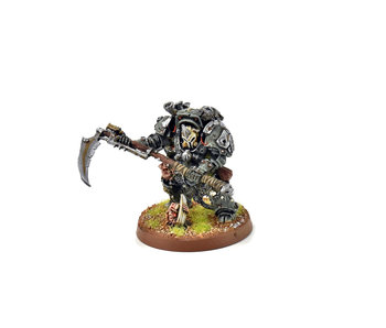 DEATH GUARD Typhus Herald of the Plague God #1 METAL WELL PAINTED Warhammer 40k