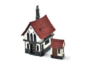EMPIRE Mordheim House Chapel #1 Warhammer Fantasy