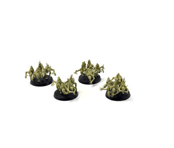 DAEMONS OF NURGLE 4 Nurgling Base Converted #6 Warhammer Sigmar