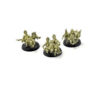 DAEMONS OF NURGLE 3 Nurgling Base Converted #3 Warhammer Sigmar