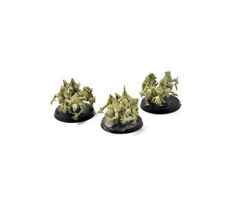 DAEMONS OF NURGLE 3 Nurgling Base Converted #5 Warhammer Sigmar