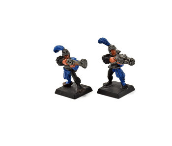 EMPIRE 2 Classic Handgunners Pistoliers #1 METAL Warhammer Fantasy