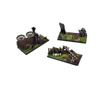 EMPIRE Custom Scenery Terrain Objective markers #1 Warhammer Fantasy