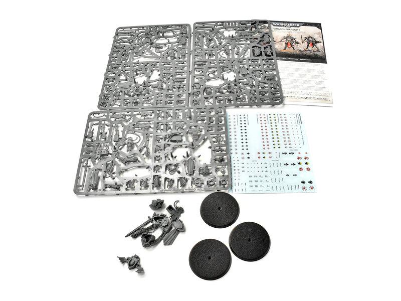 Games Workshop ADEPTA SORORITAS Paragon Warsuits Warhammer 40k