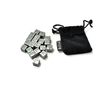 NECRONS Dice with Bag #1 Warhammer 40k