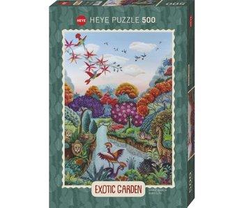 Heye Puzzle 500 pcs. Exotic Garden, Plant paradise