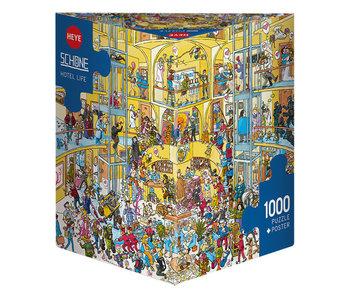 Heye Puzzle 1000pcs. Hotel Life