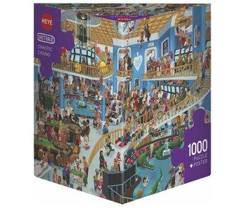 Heye Puzzle 1000pcs. Chaotic Casino