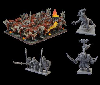 Kings Of War - Salamander Army