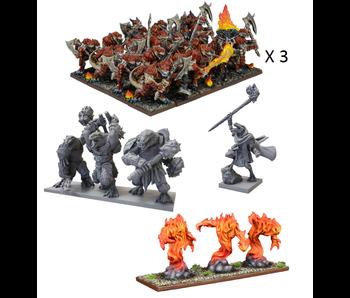 Kings Of War - Salamander Mega Army