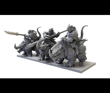Kings Of War - Rhinosaur Cavalry Regiment
