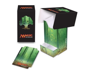 Ultra Pro D-Box MTG Mana 5 Forest Full View WithTray