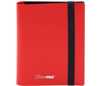 Ultra Pro Binder Pro Eclipse 2Pkt Apple Red