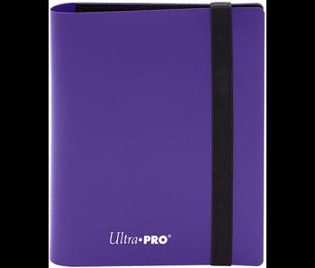 Ultra Pro Binder Pro Eclipse 2Pkt Royal Purple