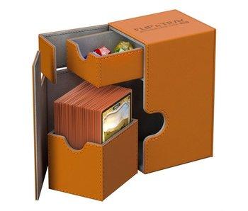 Ultimate Guard Flip N Tray Deck Case Xenoskin Orange 80+