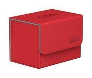 Ultimate Guard Deck Case Sidewinder 80+ Xenoskin Red