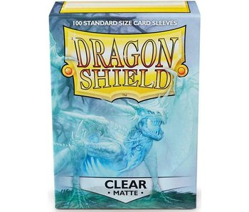 Dragon Shield Sleeves Matte Clear 100Ct