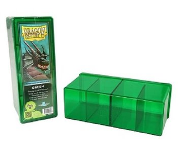 Dragon Shield Storage Box With 4 Compartments Green