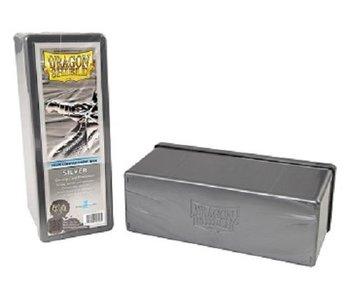 Dragon Shield Storage Box With 4 Compartments Silver